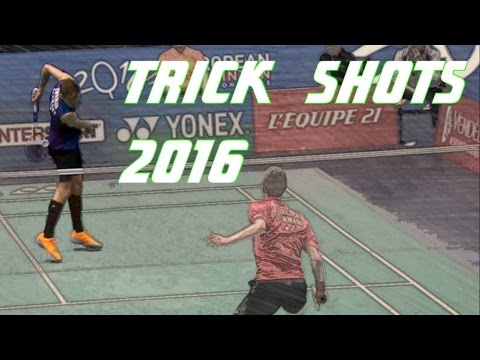 Top 10 Badminton Trick Shots of 2016