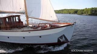 Restoring Trade Wind at Rockport Marine