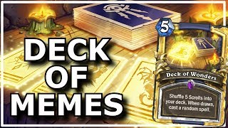 Hearthstone - Best of Deck of Wonders | Epic Memes