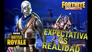 EXPECTATION VS REALITY - FORTNITE