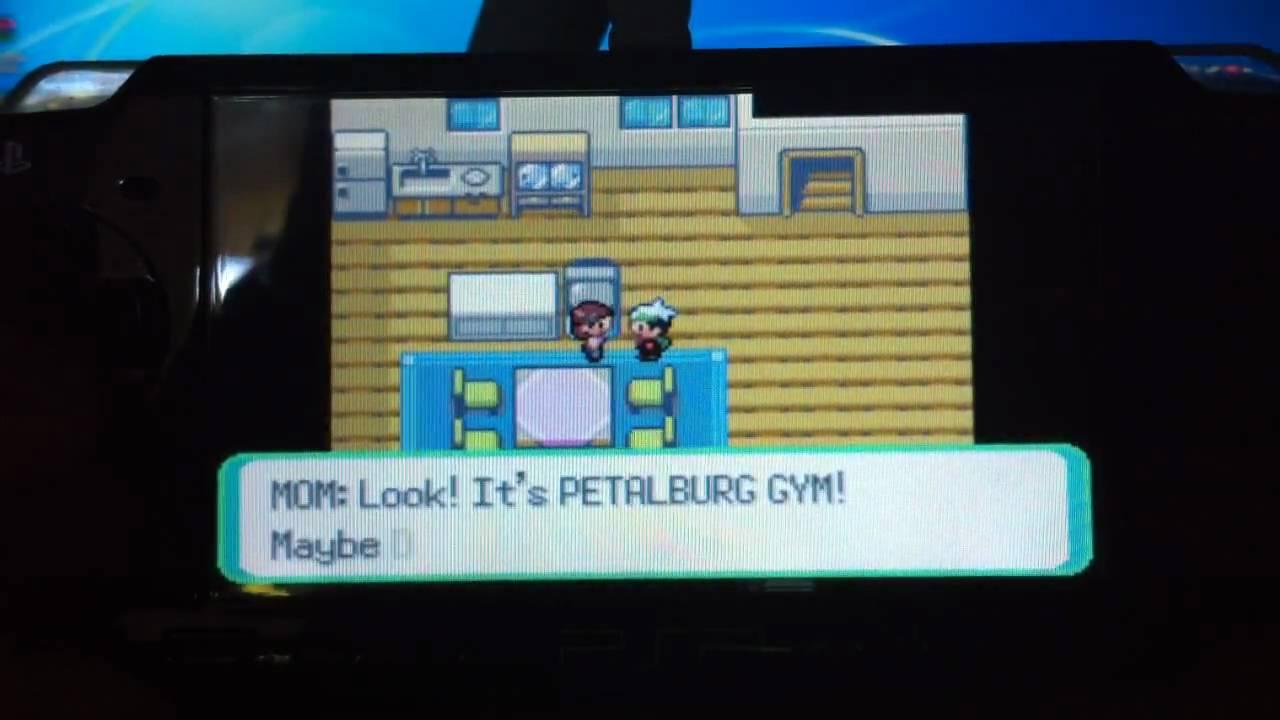 Pokemon emerald psp game download