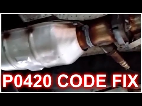 P0420 Code Fix How Its Done Catalyst Efficiency Below