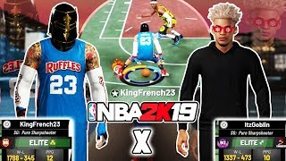 TWO PURE SHARPS TAKEOVER THE 2's COURT NBA 2K19 🏀