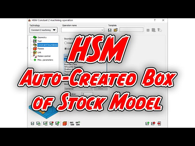 Auto Created Box of Stock Model