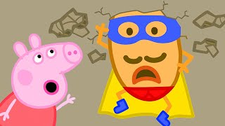 Peppa Pig Official Channel  Peppa Pig and Super Potato to the Rescue
