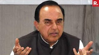 Subramanian Swamy Reacts On 'Scam Of Scams'