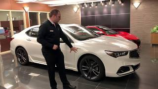 Acura of Limerick 2019 Acura TLX 4cyl A-Spec Full Demonstration