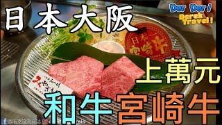 《2018日本自由行#3》大阪上萬元 三大和牛 宮崎牛究竟多好吃? 美食 神級的美味 ft茹 《德瑞克》