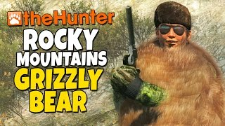 The Hunter - Rocky Mountain - Grizzly Bear