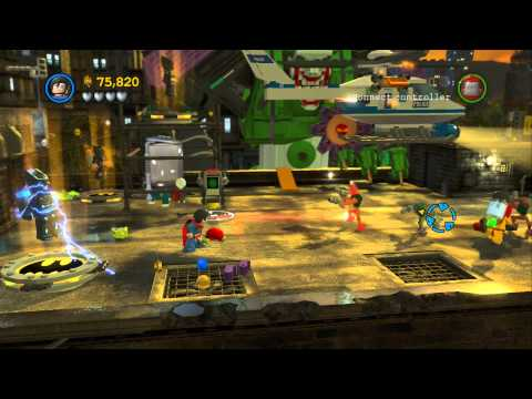 LEGO Batman 2 DC Super Heroes - All Citizens in Peril in Gotham City ...