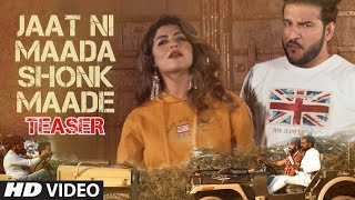 Jaat Ni Maada Shonk Maade Song Teaser TR Feat Khalifa Sonika Singh Joginder Kundu