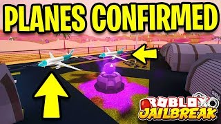 Jailbreak AIRPLANES COMING *TODAY!?* | Roblox Jailbreak New Update