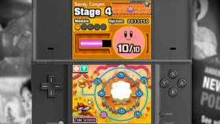 Kirby Mass Attack - Gameplay Quick Look (Video Game Video Review)
