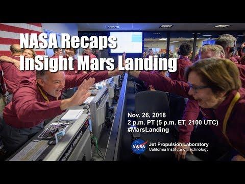 NASA Recaps InSight Mars Landing