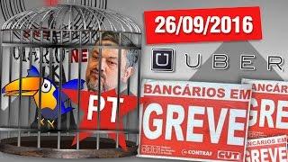 palocci na cadeia vai de uber greve do bancrios e dana dos famosos otarionews