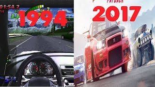 Need for Speed Evolution 1994-2017