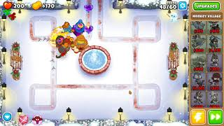 Bloons TD 6 - Easy, Deflation, Winter Park, (NO MONKEY KNOWLEDGE)