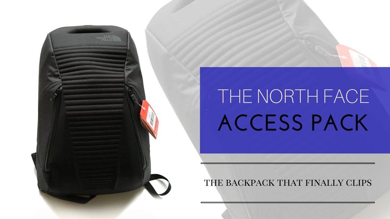 mochila access pack north face