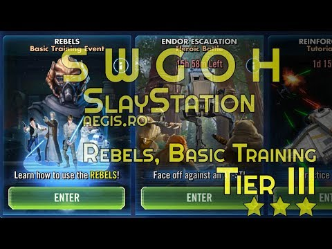 SWGOH Rebels, Basic Training, Tier 3