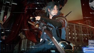 FINAL FANTASY XV: Royal Edition - Armiger Unleashed Gameplay on Bosses @ 1080p (60ᶠᵖˢ) HD ✔