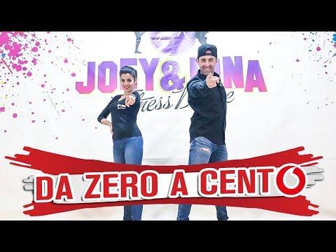 DA ZERO A CENTO Baby K Coreografìa Joey&Rina || TUTORIAL || Balli di Gruppo 2018 Line Dance