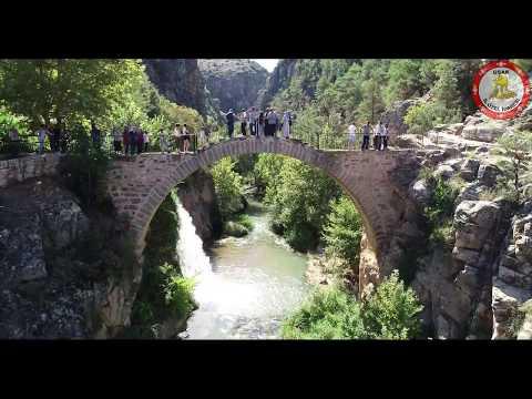 Uşak Clandras Köprüsü ve Şelalesi