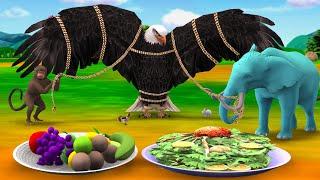 పెద్ద పక్షి ఉచ్చు Giant Bird Trap Telugu Kathalu Telugu Story Bedtime Stories Panchatantra kathalu