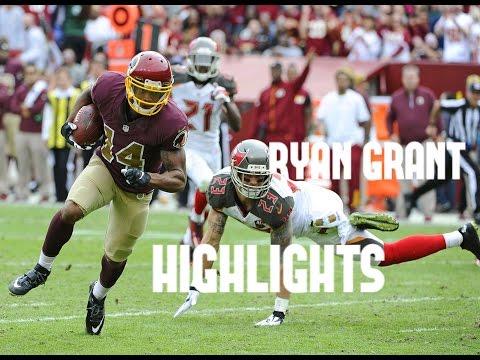 Ryan Grant Highlights ᴴᴰ || 2014-2016 || Washington Redskins
