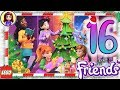 Day 16 Build your Christmas Tree Decorations - Lego Friends Advent Calendar 2018