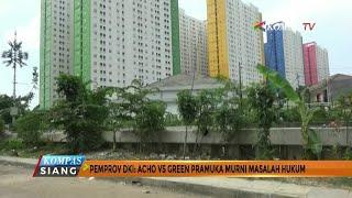 Pemprov DKI: Acho Vs Green Pramuka Murni Masalah Hukum
