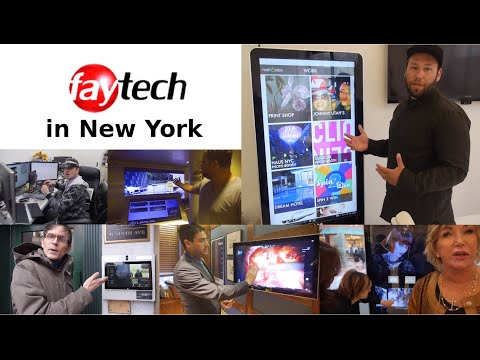 faytech touch devices in New York