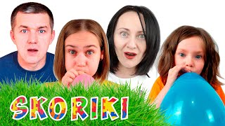 Collection of family videos on the SKORIKI channel