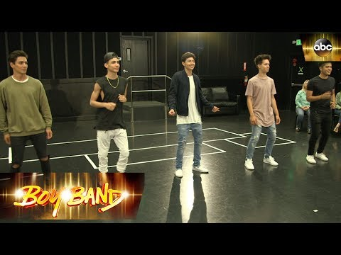 The Boys Dance to Despacito In Front of Their Moms - Clip | Boy Band