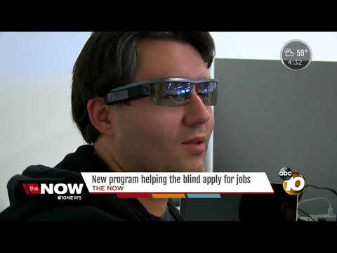 New program helping the blind, visually-impaired apply for jobs