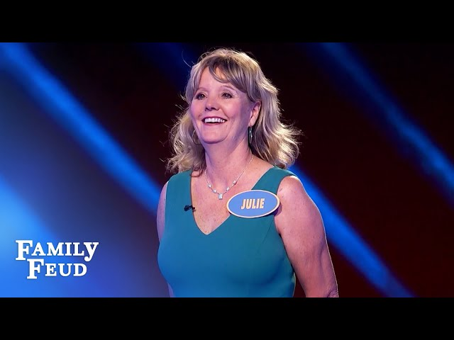 The #1 answer to this question will shock men! | Family Feud