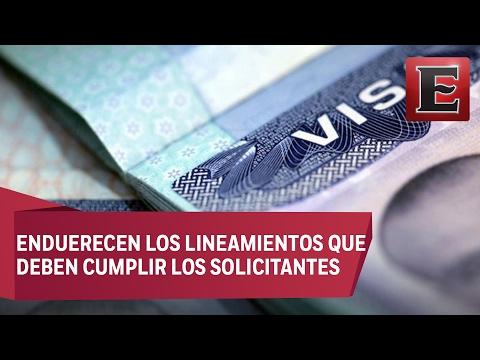Los nuevos requisitos a mexicanos para renovar visa estadounidense