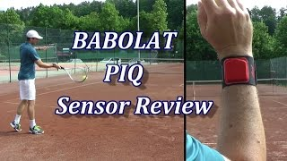 Tennis Sensor - Babolat PIQ Review