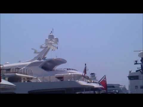 Monaco where Billionaires dock, Yacht spotting