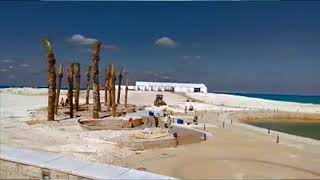 أخبار اليوم   ممشي سياحي وطبيعة ساحرة علي شاطئ مدينة العلمين الجديدة