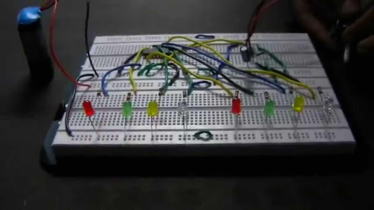 medium resolution of dancing led circuit