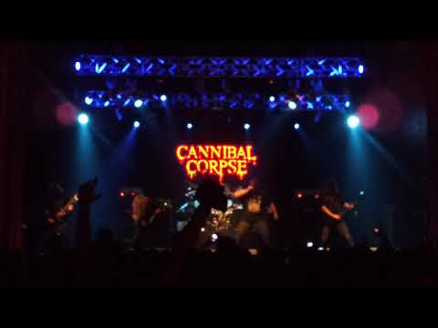 """CANNIBAL CORPSE In ARGENTINA """"Staring Through The Eyes Of Dead"""""""