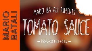 How to Make Classic Tomato Sauce