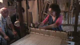 Mercato delle Gaite 2010 Bevagna la lavorazione della seta