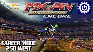 MX vs. ATV Supercross Encore - Career Mode Part 1 - 250 West