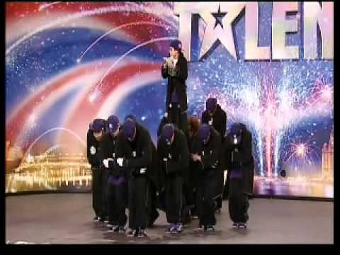Britains Got Talent 2009 - DIVERSITY amazing street dance act WOWS judges in Audition 3 !! [HQ]