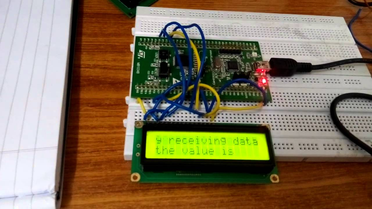 16x2 LCD Display with moving animation