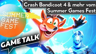 Crash Bandicoot 4 & weitere Indiespiele beim Summer Game Fest | Game Talk #69
