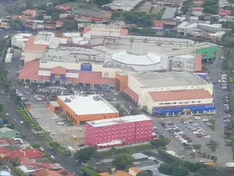Super Mega Beautiful day landing at Managua Nicaragua