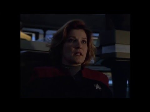 "Star Trek Voyager - Battle with Malon Freighter ""Night"""