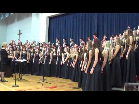 Charlotte Catholic High School - Carol of the Bells